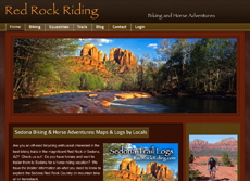 Red Rock Riding Sedona biking & horse trail maps